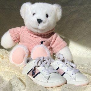 Ralph Lauren Toddler Shoes and Teddy  Bear 6
